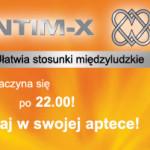 Baner reklamowy produktu INTIM-X